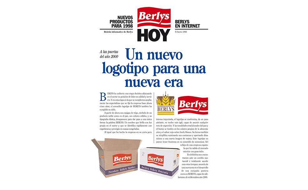 Anuncio nuevo logo Berlys