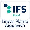 Logo IFS food box coated